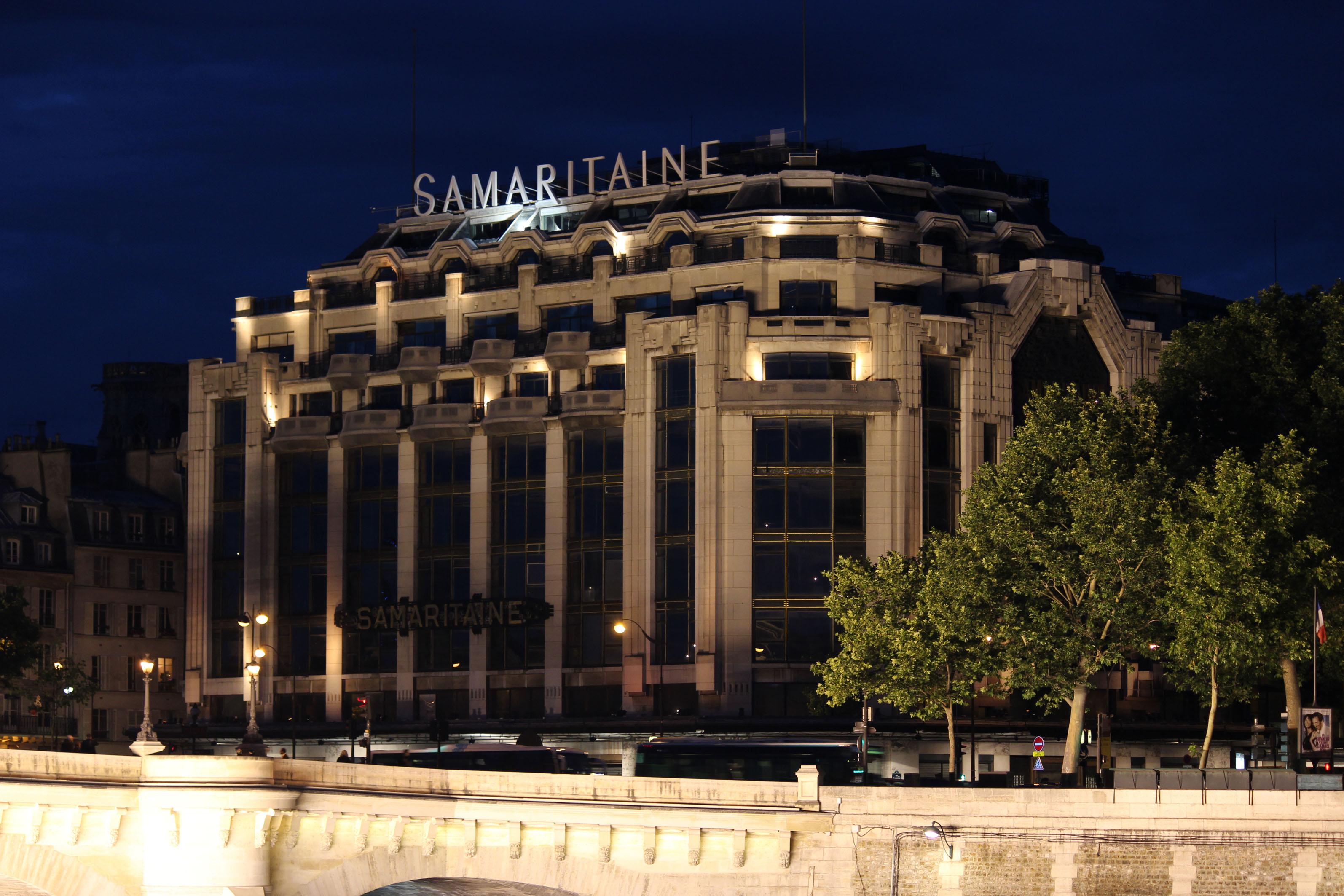 Photographie - Paris - La Samaritaine - Violaine Martin Créations - Design textile - tissage jacquards, unis et velours - aquarelles botaniques - Hauts-de-France
